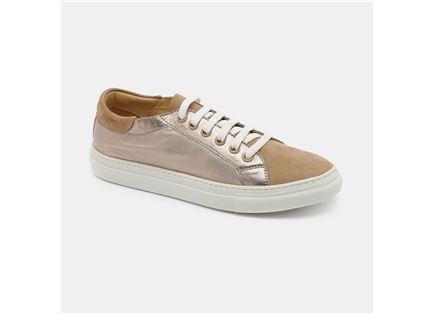 Darkwood - נעלי סניקרס בצבע רוזגולד בשיל במבצע