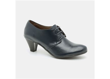 Seventy Nine - נעלי עקב בינוני וצר מעור