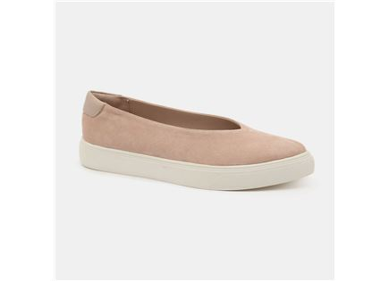 Seventy Nine - נעלי סניקרס עור בצבע ניוד