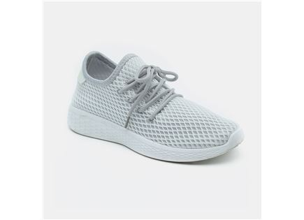 Seventy Nine - נעלי סניקרס רשת בצבע אפור