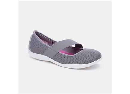 Crocs Swiftwater Flat - נעלי בובה אפורות