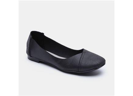 Seventy Nine - נעלי סירה מעור בצבע שחור