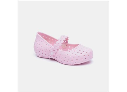 Candy - נעלי בובה אווריריות בצבע ורוד בה