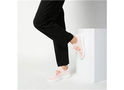 Seventy Nine - נעלי סניקרס רשת בצבע ורוד