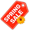 Spring Sale תווית